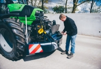 traktor bumper traktor unterfahrschutz