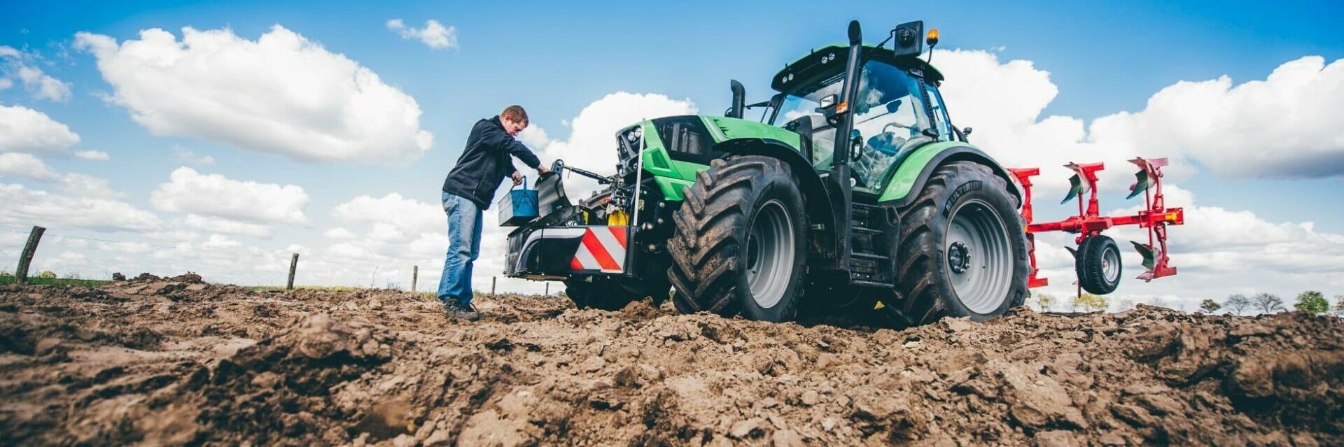 Unterfahrschutz-Traktoren-Auffahrschutz