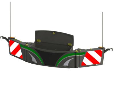 Traktor-Warntafeln