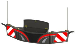 Warntafeln-traktor